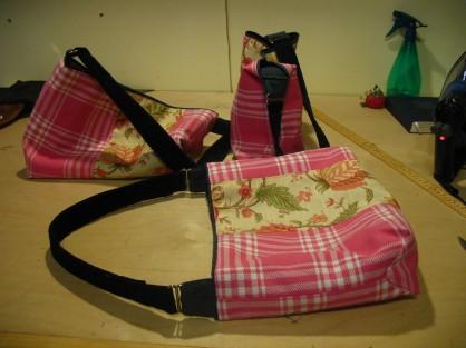 bridesmaids plaid handbags